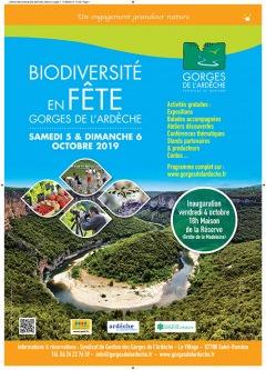 Biodiversité en fête 2019