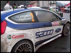 Rallye Monte-Carlo en Ardeche