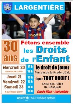LES DROITS DE L'ENFANT ONT 30 ANS !