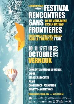 FESTIVAL RENCONTRES SANS FRONTIÈRES 2020