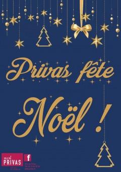 Privas fête Noël du 1 au 31 décembre 2020 !