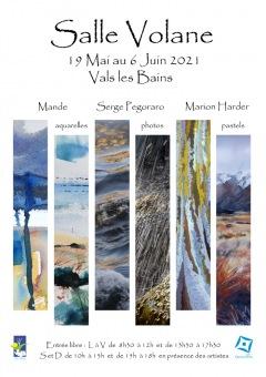 EXPOSITION LES QUINCONCES 2021 : MANDE / SERGE PEG