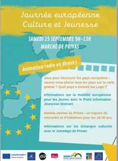 Journée européenne Cultures et Jeunesse Privas 2