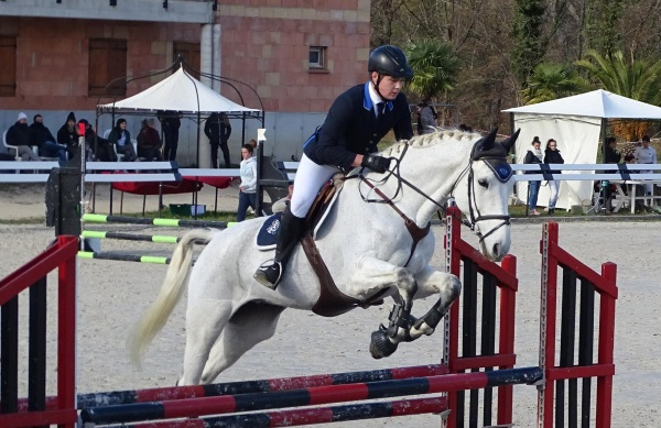 Privas Equitation Quentin et Acrobaat