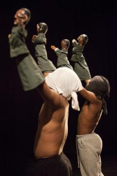 CONGO MY BODY - THEATRE 2011 VALS ARDECHE