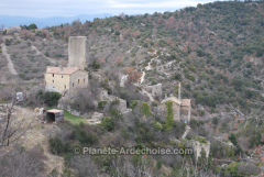 rochecolombe Ardèche