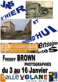 Exposition : Freddy Brown en Ardeche