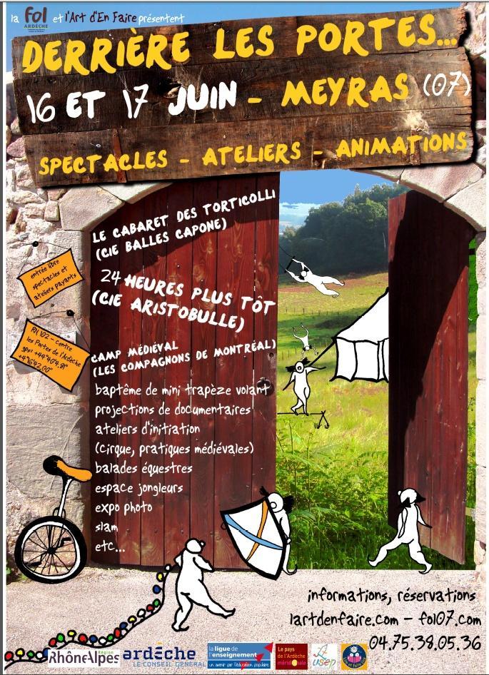 Ardeche derri re les portes 15 17 juin 2012 meyras - Derriere les portes fermees streaming ...
