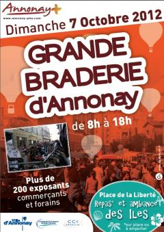 BRADERIE D'AUTOMNE 2012 A ANNONAY