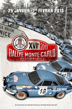 16EME RALLYE MONTE-CARLO HISTORIQUE 2013