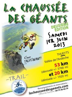 La Chaussée des Géants : 2ème édition à Thuey