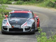 Rallye du Gard 2013 - Passage à Banne en Ardèche