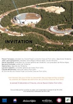 Visite Espace restitution de La Grotte Chauvet Pon