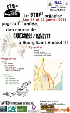 CTNI07:Course à Bourg-Saint-Andéol 12&13 Jan