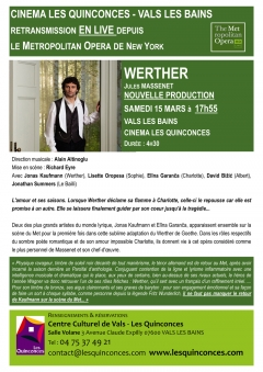 WERTHER JULES MASSENET