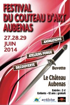 Le Festival du Couteau d'Art d'Aubenas