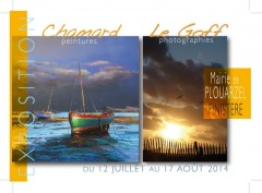 ARTISTE ARDECHE : Jean-Marc CHAMARD en Bretagne -