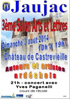 3 ème Salon ARTS et LETTRES à JAUJAC 2014