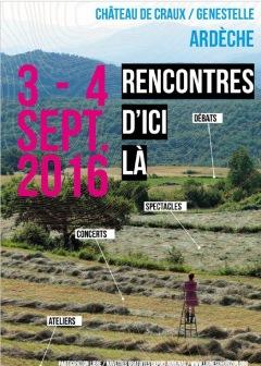 """""""LES RENCONTRES D'ICI LÀ"""" - 3 & 4 s"""