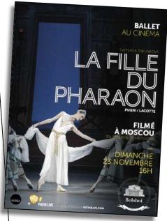 OPÉRA LES QUINCONCES 2014 : LA FILLE DU PHARAON
