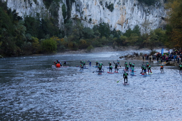 Paddle marathon Ardèche 2019