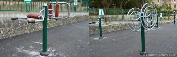 Agrès Parc Vals-les-Bains