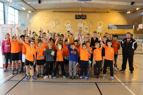 Badminton Tournon décembre 2016