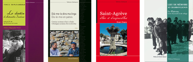 4 ouvrages éditions dolmazon