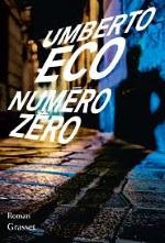 Numéro Zéro Livre