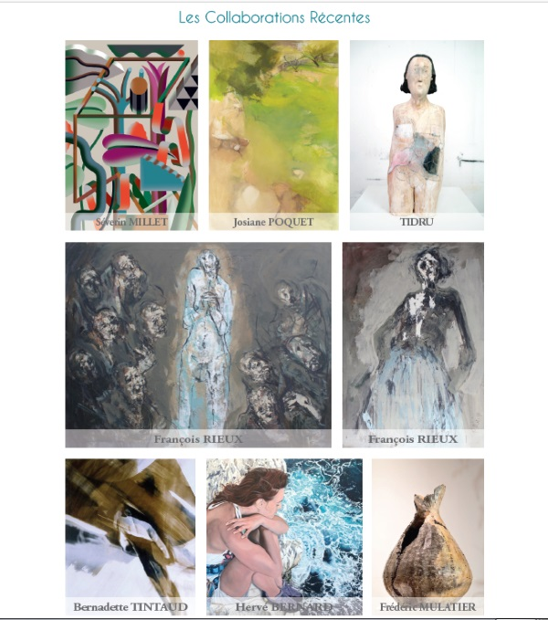 Artistes Mercurart galerie