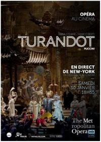 Affiche Turandot 2016