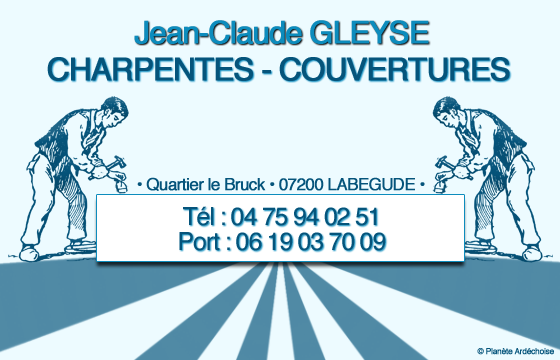 Photo CHARPENTES, COUVERTURES - JC GLEYSE
