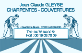 CHARPENTES, COUVERTURES - JC GLEYSE