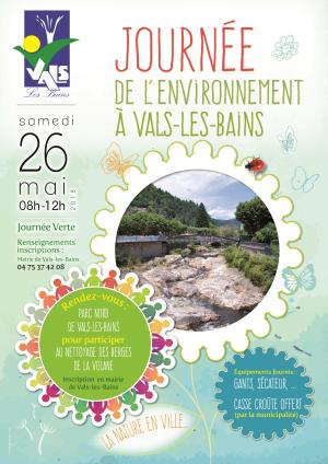 Journée Environnement Vals les Bains 2018