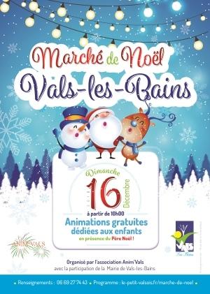 Marché de noel Vals 2018