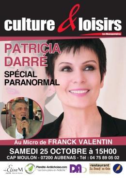 Patricia Darré à Culture et Loisirs