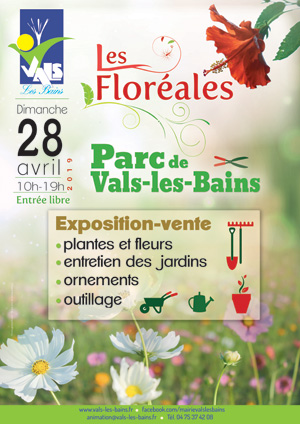 Les floréales à Vals les Bains 2019
