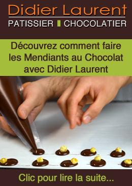 Recette – Les Mendiants au chocolat - Didier Laurent