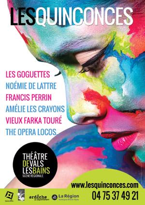 Théâtre - Les Quiconces - Vals les bains